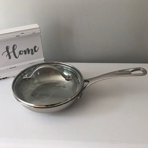 """Princess House Stainless Steel 6"""" Classic Skillet"""